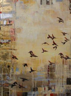 Birds flying.. Unknown artist