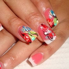 Easy Fashionable New Years 2013 Nail Art Designs To Master