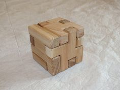 3D Wooden Cube Puzzle by BenhamDesignConcepts on Etsy