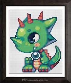 0173Dinga  PDF Cross Stitch pattern by PDFcrossstitch, $4.90