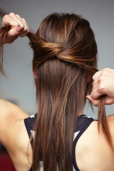 3 chic knotted hairstyles to try out this week