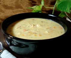 Copy-Cat Panera Cream Of Chicken And Wild Rice Soup Recipe - Food.com: Food.com