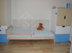 dappi - Galeria - panele tapicerowane, dekoracyjne, ścienne Bed Headboard Design, Headboards For Beds, Toddler Bed, Bedroom, Lighter, Furniture, Home Decor, Lounges, Beds