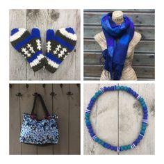 Blue products from Kleurrijk Nepal 💙 Fair Trade, Nepal, Crochet Necklace, India, Blue, Products, Fashion, Moda, Goa India