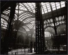 Interior of Penn Station, 1935, by Berenice Abbot.