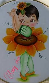 Imagen relacionada Fabric Painting, Painting & Drawing, Sunflower Pictures, Natural Hair Art, Rangoli Designs With Dots, Beautiful Mehndi Design, Fairy Princesses, Painted Wine Glasses, Blossom Flower