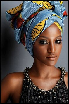 The Turban. Proudly African and rocking the Abaya! | Nspired Style