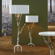 Eco-Lighting design by Bleu Nature Cool Wood 2011 Furniture decoration-VOLSKAR Collection