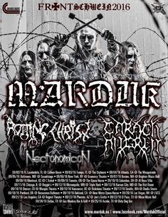 MARDUK announce North American tour dates!