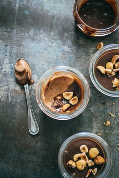 Milk Chocolate Hazelnut Mousse