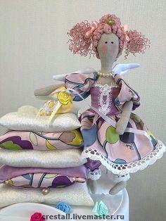 Куклы Тильды ручной работы. Ярмарка Мастеров - ручная работа Принцесса на горошине Лиза. Handmade.