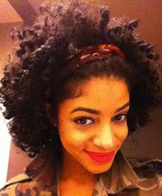 Priscilla // 3C/4A Natural Hair Style Icon