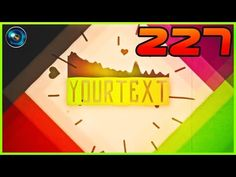 Template 227 Sony Vegas 11,12 e 13 (M.P.) - YouTube