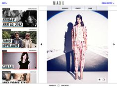 detail onMADE Fashion Week