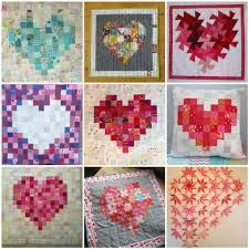 heart quilt patterns