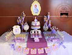 Sofia the First Princess Birthday Party {Ideas, Planning, Decor}