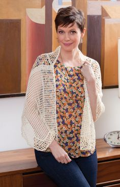 Square in Square Shawl Free Crochet Pattern from Aunt Lydia's Crochet Thread