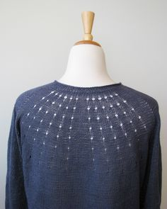 vitamin d knit in quince & co. sparrow