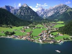 The Chalet School is set in the real life location of Pertisau am Achensee. The author holidayed there in 1922.