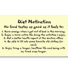 Need motivation