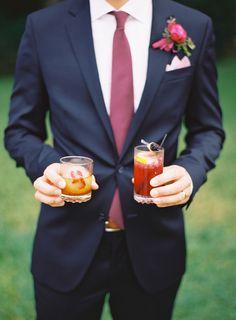 Photography: The Great Romance Photo - thegreatromancephoto.com  Read More: http://www.stylemepretty.com/2015/01/05/berry-colored-oahu-wedding/