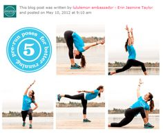 Prerunning yoga
