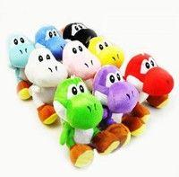 """Amazon - Size: 7"""" Wholesale Super Mario Brothers Nintendo Soft Stuffed YOSHI 7"""" Plush Doll Toy (26) $21USD$6USD"""
