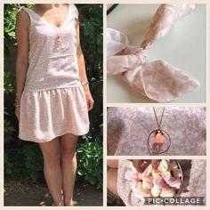 #cestmoiquilaifait #robejade #jadeLAP @louisantoinetteparis @atelierbrunette #homemade #faitmain #hacklamode #rosebonbon #pastel #spring #summer #nofilter #chamallow #couture #coutureaddict #jecoudscequejeporte #jeportecequejecouds #instacouture #instajewelry Rose Bonbon, Couture, Pastel, Summer Dresses, Spring, Clothes, Instagram, Fashion, Jade Dress