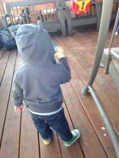Love little fun hoodie