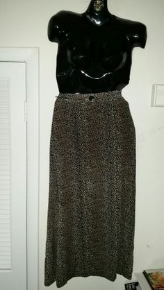 Vintage 90s maxi skirt in a size large. Elastic waist band. $10 obo.