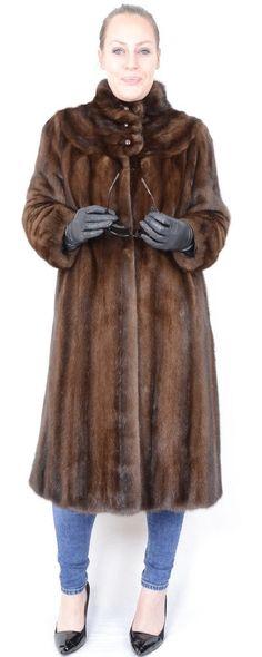 A791 Saga Mink Nerzmantel Nerz Pelz Mantel Pelzmantel Mink Fur Coat Jacket  ca. L Kleidung d38da486c9