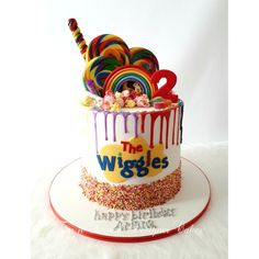 2nd Birthday Cake Boy, Second Birthday Ideas, Themed Birthday Cakes, Boy Birthday Parties, Wiggles Cake, Wiggles Party, Wiggles Birthday, Celebration Cakes, Birthday Celebration