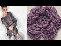 Ажурная кофта крючком. Ч 3 Openwork crochet sweater Кофта связаная с мотивов, как бы в стиле ирландского кружева. Третий мотив. https://youtu.be/VSGGTH-ewsA...