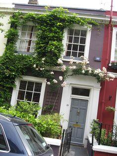 Portobello Road , London.    One day I will be on Portobello Road. :]