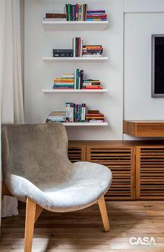 Após reforma, apartamento ganha amplitude, luz e peças de design - Casa