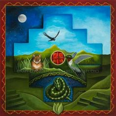Amy Livingstone is a visionary artist and founder of Sacred Art Studio. Her shamanic artwork offers beauty, inspiration, and healing for our world. Mandala, Medicine Wheel, Expressive Art, Animal Totems, Ancient Symbols, Visionary Art, Sacred Art, Mother Earth, Art Prints