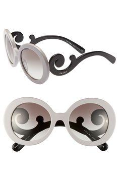 59da04efef prada baroque round sunglasses - Pesquisa Google