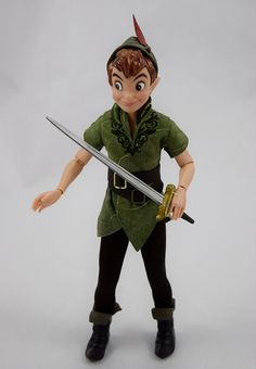 Peter Pan and Captain Hook Doll Set - 2015 DFDC - Disney S… | Flickr