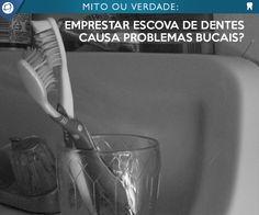 VERDADE! A escova dental é o principal instrumento de higiene dental, ela remove a placa bacteriana através do atrito de suas cerdas nos dentes, gengiva e língua do indivíduo. Existe um contato íntimo com as bactérias da boca, com fungos que possam existir na mucosa ou língua e também alguns vírus.