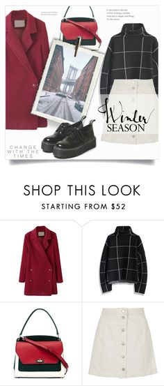 """""""#249) LET IT SNOW THIS WINTER"""" by fashion-unit ❤ liked on Polyvore featuring WithChic, Chicwish, Bally and Topshop"""