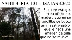 ISAIAS 40:20 - MARIETTA, GA