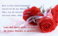 Heut zu dem Geburtstagsfeste wünsch ich dir das Allerbeste - ツ GeburtstagsBilder, Grußkarten und Geburtstagsgrüße ツ