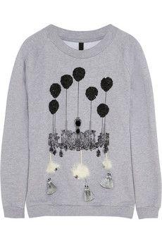 Mother of Pearl embellished sweatshirt