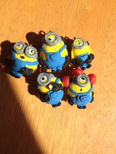 Despicable Me polymer clay charms