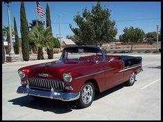 1955 Chevrolet Bel Air Convertible 350 CI, Automatic for sale by Mecum Auction