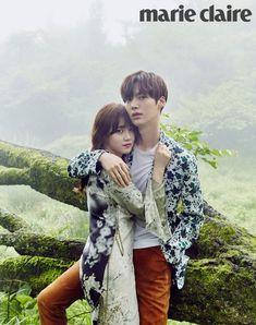Ahn Jae Hyun and Goo Hye Sun - Marie Claire Magazine June Issue '16
