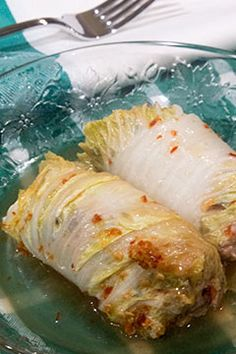 Asian flavored cabbage rolls:  http://foodieagogo.blogspot.com/2016/01/although-my-sister-in-law-would-think.html