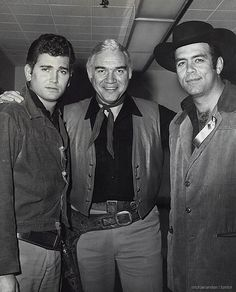 Cartwrights - Michael Landon, Lorne Greene & Pernell Roberts.