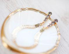 Delicate Bridal earrings