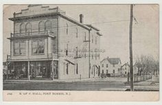 Early 1900's Vintage Photo of Knights of Pythias Hall, General Store, Port Norris (Cumberland County), NJ <3